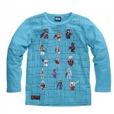 LEGO Sweatshirt Star Wars TURQUOISE (Terry 320 - Maat 134)