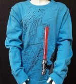 LEGO Star Wars Sweatshirt LIGHT BLUE (Sami 961 Size 146)