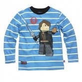LEGO T-Shirt Anakin BLAUW (Terry 123 Maat 152)