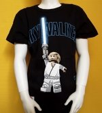 LEGO Star Wars T-Shirt Anakin Skywalker BLACK (Tel 963 Size 122)
