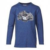 LEGO T-Shirt BLAUW (Timmy 659 Maat 134)