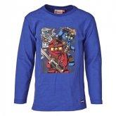 LEGO T-Shirt BLAUW (Timmy 609 Maat 110)