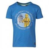 LEGO T-Shirt BLAUW (Tony 450 Maat 128)