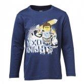 LEGO T-Shirt Nexo Knights BLAUW (M-70423 Maat 116)