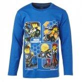 LEGO T-Shirt Nexo Knights BLAUW (M-70597 Maat 128)