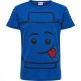 LEGO T-Shirt BLAUW (TEO 702 Maat 110)