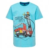 LEGO T-Shirt BLAUW (M-72496 Maat 122)
