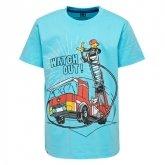 LEGO T-Shirt BLAUW (M-72496 Maat 128)