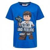 LEGO T-Shirt BLAUW (M-72527 Maat 122)