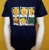 LEGO T-Shirt DARK BLUE (Timmy 490 - Size 116)