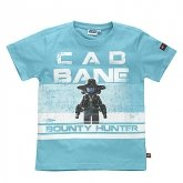 LEGO T-Shirt Cad Bane BLAUW (Terry 321 Maat 110)