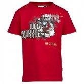 LEGO T-Shirt Chima ROOD (Thor 443 Maat 104)