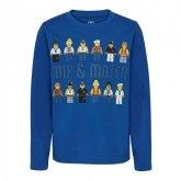 LEGO T-Shirt City DONKERBLAUW (CM-51126 - Maat 140)