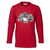 LEGO T-Shirt DONKERROOD (Timmy 659 Maat 128)