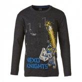 LEGO T-Shirt Nexo Knights DONKERGRIJS (M-70596 Maat 122)