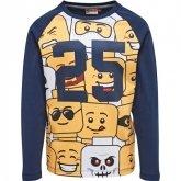LEGO T-Shirt DONKERBLAUW (Teo 626 Maat 122)