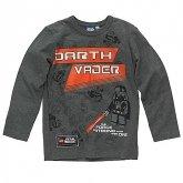 LEGO T-Shirt Darth Vader GRIJS (Tom 621 Maat 146)