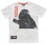 LEGO T-Shirt Darth Vader WIT (Tom 620 Maat 146)