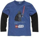 LEGO T-Shirt Darth Vader BLAUW (Tom 955 - Maat 146)