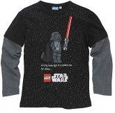LEGO T-Shirt Darth Vader ZWART (Tom 955 - Maat 128)
