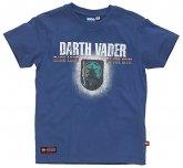 LEGO T-Shirt Darth Vader BLAUW (Tom 950 - Maat 122)