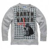 LEGO T-Shirt Darth Vader GRIJS (Terry 125 Maat 128)