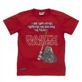 LEGO T-Shirt Darth Vader ROOD (Terry 331 Maat 128)