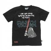 LEGO T-Shirt Darth Vader ZWART (Terry 331 Maat 104)