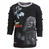 LEGO T-Shirt Darth Vader ZWART (Terry 652 Maat 116)