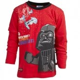LEGO T-Shirt Darth Vader ROOD (Terry 652 Maat 110)