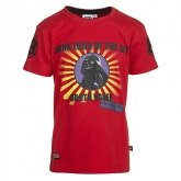 LEGO T-Shirt Darth Vader ROOD (Terry 651 Maat 140)
