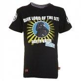 LEGO T-Shirt Darth Vader ZWART (Terry 651 Maat 122)