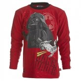 LEGO T-Shirt Darth Vader ROOD (Terry 751 Maat 122)