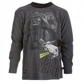 LEGO T-Shirt Darth Vader ANTRACIET (Terry 751 Maat 128)