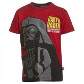 LEGO T-Shirt Darth Vader ROOD (Terry 758 Maat 104)