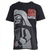LEGO T-Shirt Darth Vader ZWART (Terry 758 Maat 104)