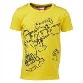 LEGO T-Shirt GEEL (Tony 616 Maat 122)