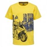 LEGO T-Shirt GEEL (M-72497 Maat 122)