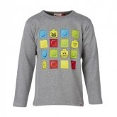 LEGO T-Shirt GRIJS (Timmy 284 Maat 110)