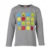 LEGO T-Shirt GRIJS (Timmy 284 Maat 128)