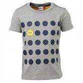 LEGO T-Shirt GRIJS (Tony 615 Maat 134)