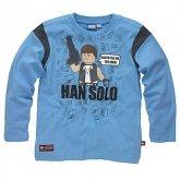 LEGO T-Shirt Han Solo BLAUW (Terry 121 Maat 122)