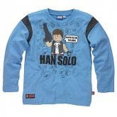 LEGO T-Shirt Han Solo BLAUW (Terry 121 Maat 128)