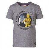 LEGO T-Shirt LICHTGRIJS (Tony 450 Maat 116)