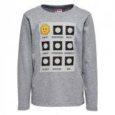 LEGO T-Shirt LICHTGRIJS (Tony 712 Maat 134)