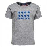 LEGO T-Shirt LICHTGRIJS (Tony 707 Maat 134)
