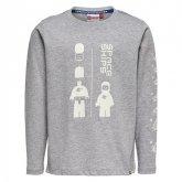 LEGO T-Shirt LICHTGRIJS (Tony 711 Maat 122)