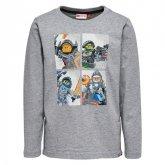 LEGO T-Shirt  Nexo Knights LICHTGRIJS (Tony 808 Maat 110)