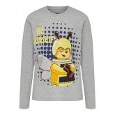 LEGO T-Shirt LICHTGRIJS (CM-51104 - Maat 128)