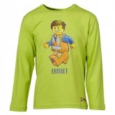 LEGO T-Shirt Movie LIMEGROEN (Tristan 111 Maat 104)